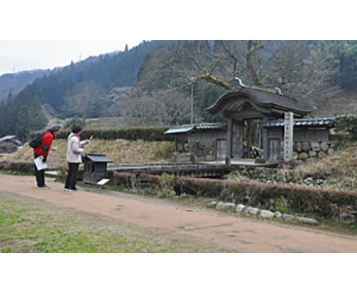 一乗谷遺跡に脚光 19年観光客数、4年ぶり100万人超