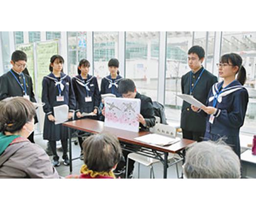 温暖化、戦争の学習成果 福井大付属義務教育学校
