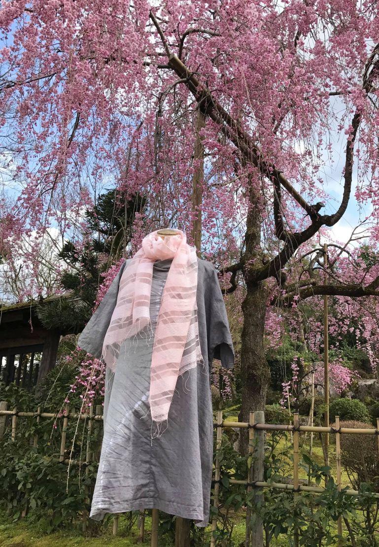 石川雅夫 草木染展~桜風によせて~