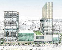 北陸初、米・マリオット進出 福井「三角地帯」再開発ビル