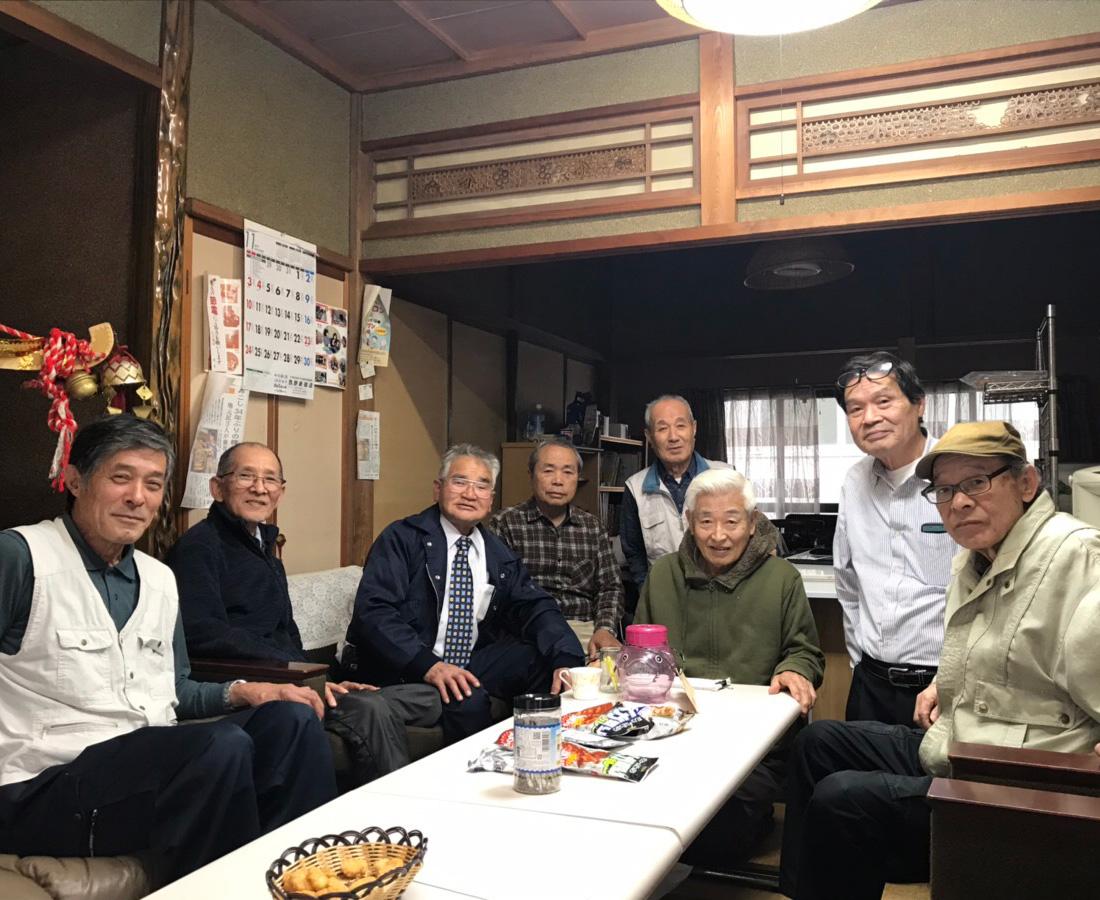 """""""みんなで楽しく過ごせる場所を作りたい""""。福井市・東安居地区のシニアたち。"""