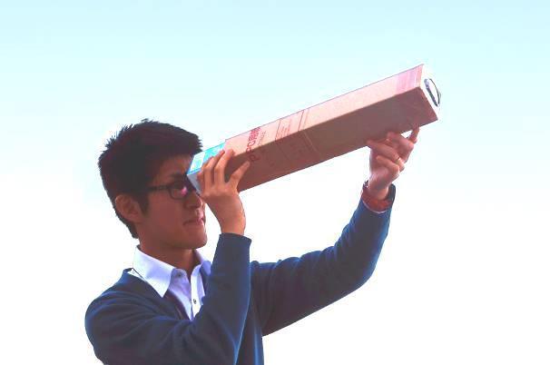 【中止】自然史講座「メガネと虫メガネのレンズで、手作り望遠鏡を作ろう」