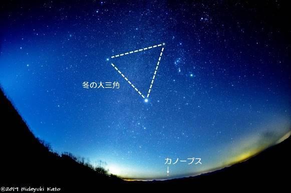 【中止】天体観望会「見られたらラッキー!カノープスの観察に挑戦!」