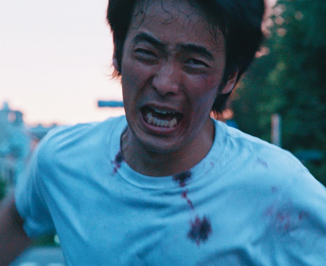 自殺、不倫、暴力。夜明け前のガレリア元町で人を殴る。「福井の希望」を描いた作品にやられろ!