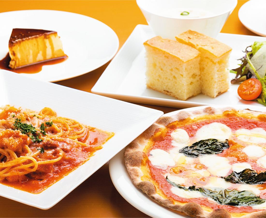 毎日おいしいランチ|TAVERNA Pinoli