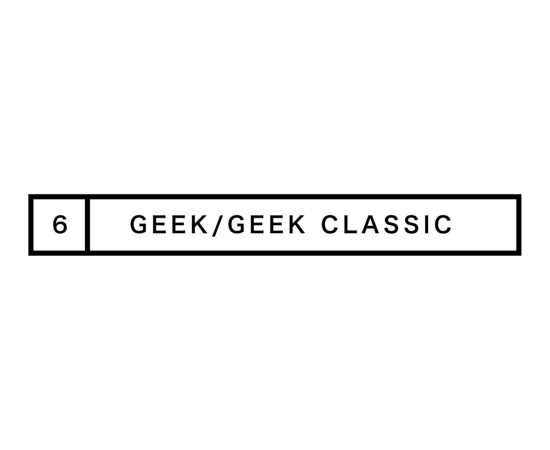 【GEEK/GEEK CLASSIC】