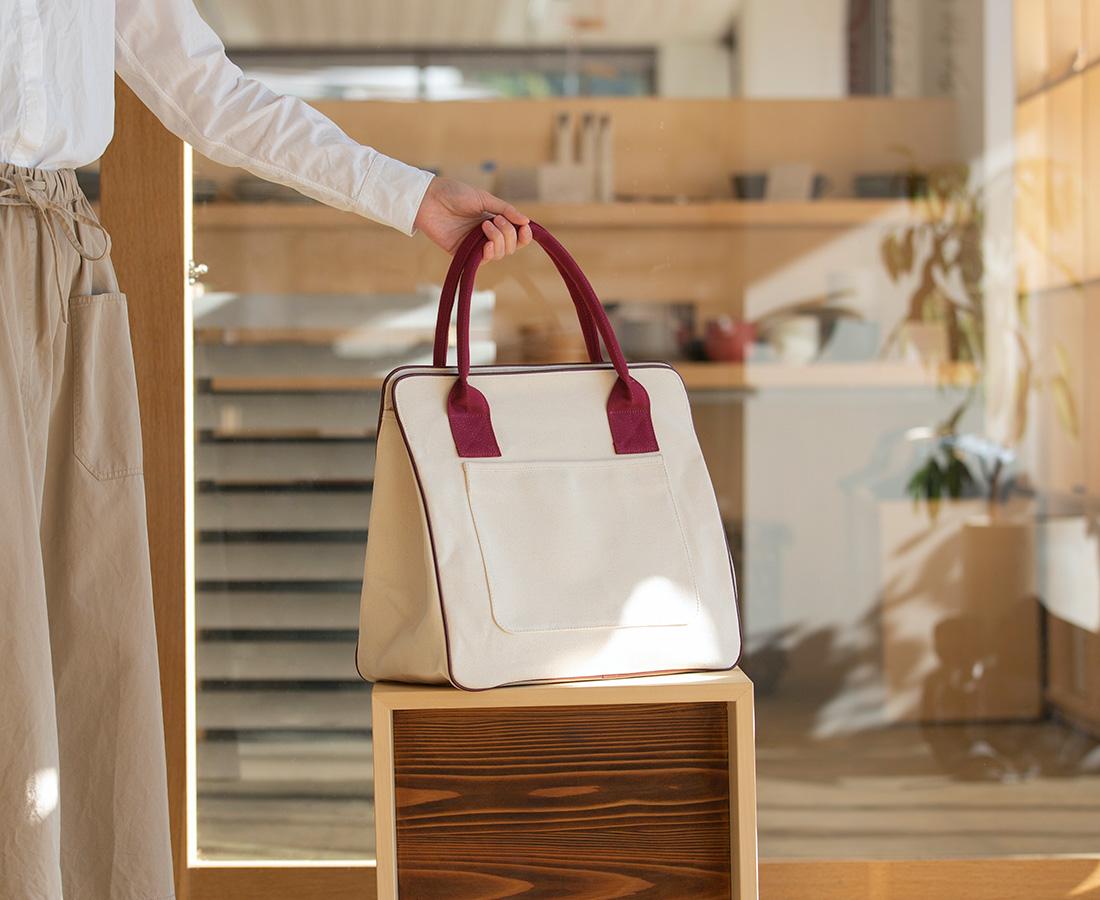 帆布素材の丈夫なバッグ「ARLE」(アルル)から30周年限定モデルが登場!│YUSHI