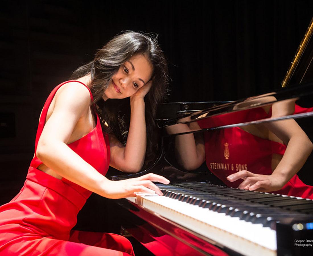 LA在住のジャズピアニスト、馬渕侑子さんから素敵な曲のプレゼントが届きました♪