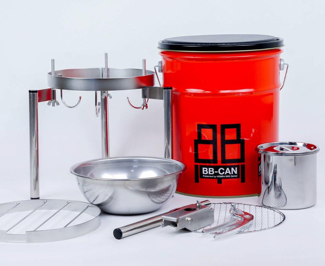 家族で、一人で、BBQ! 所さんのアイデアから生まれたスマートBBQ「BB-CAN」│TAYASU