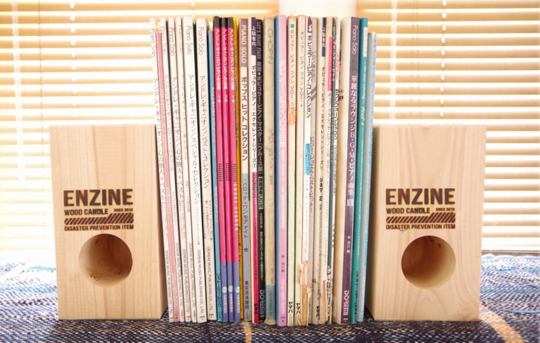 ウッドキャンドル『ENZINE(エンジン)