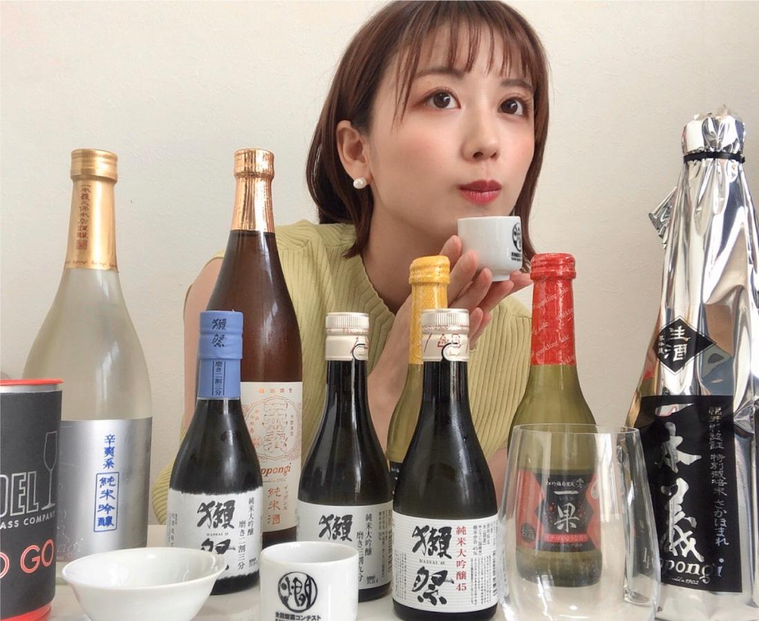 熱中症対策と日本酒講座に必要なものとは?正解はコラムに続きます☻