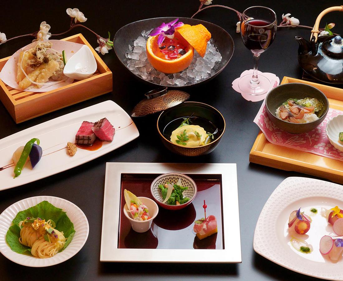 福井県民限定!フレンチ会席をメインとした2食付きプランを期間限定販売|ホテルリバージュアケボノ