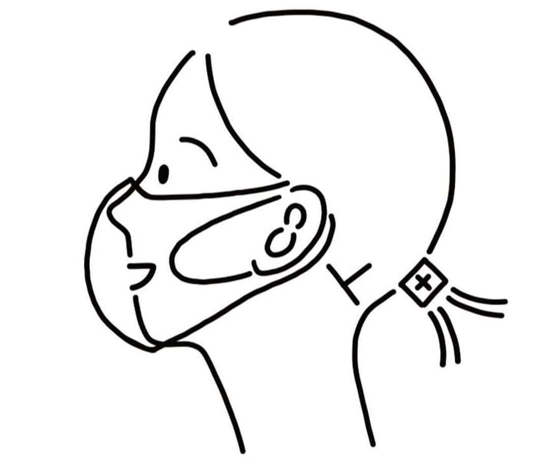 こだわりの生地を使用したフクイメイドの安心安全マスク。|イーナマスク