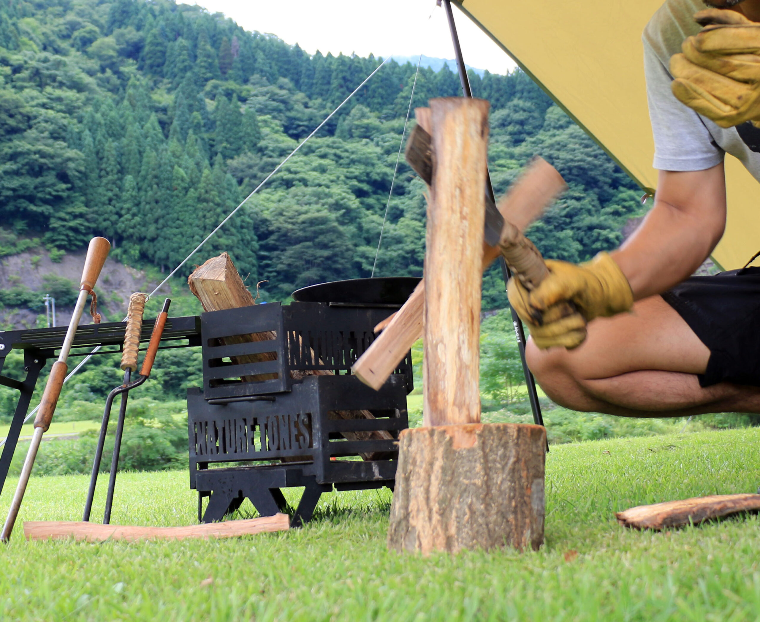 アウトドア初心者にも。まったりとしたキャンプを楽しむサークルが誕生!
