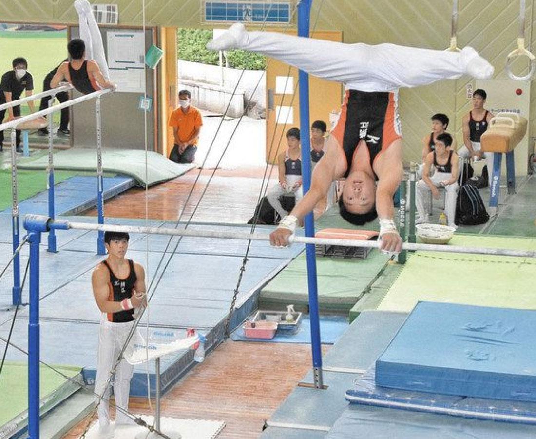体操で開幕、高校生の夏季特別大会 コロナ中止の春季総体の代替