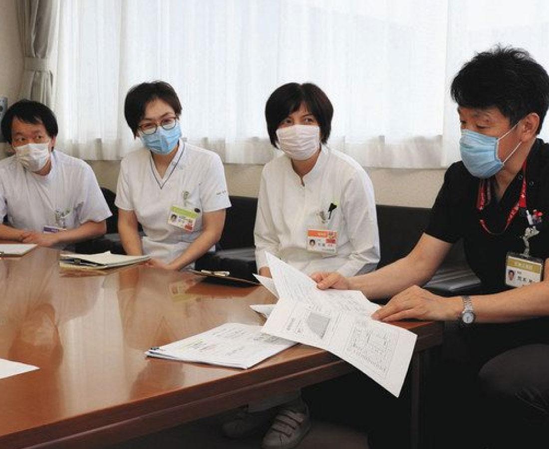 <揺らぐ二州の医療 コロナ渦の敦賀病院>(上)唯一の総合病院、綱渡り