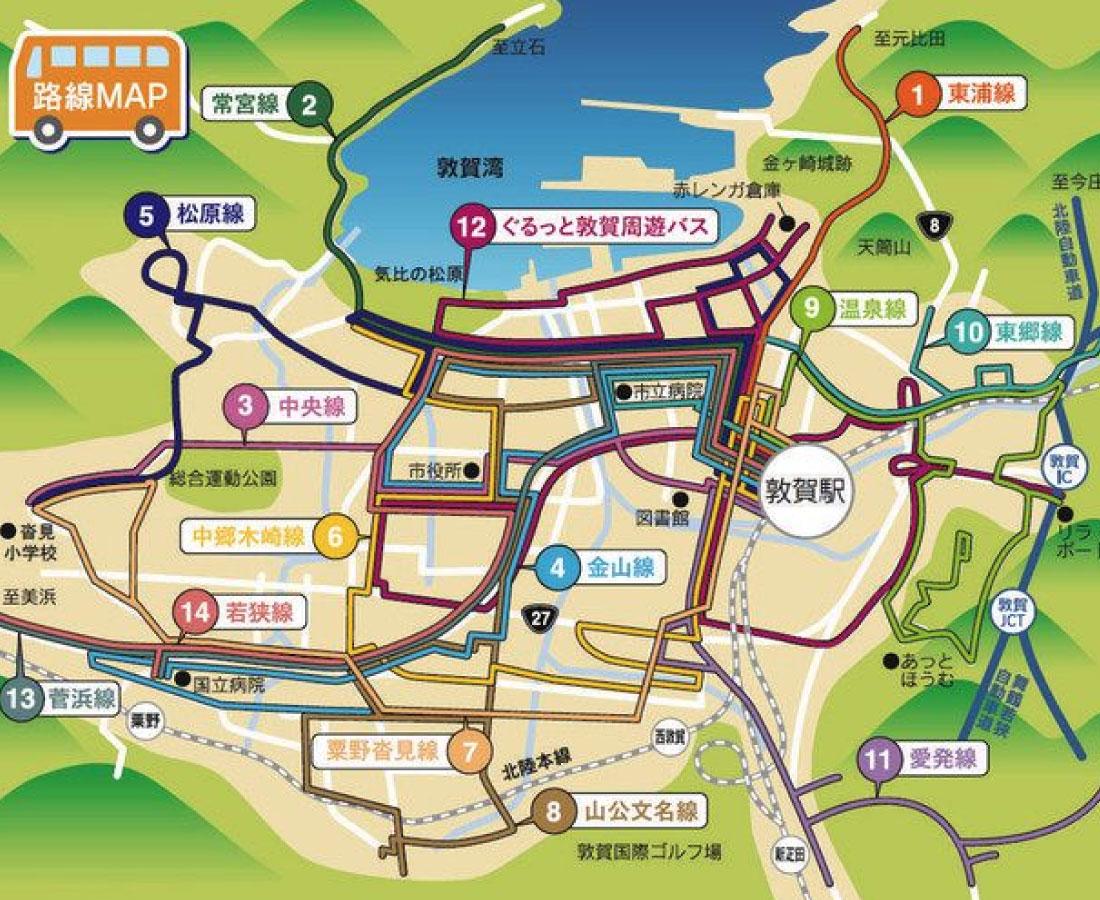 """バス停付近の""""映え""""SNSに投稿しよう 敦賀市がキャンペーン"""