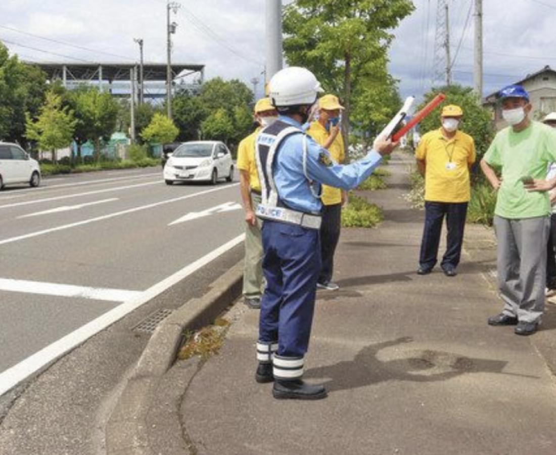 歩行者死亡事故 防止策など意見 福井署が現場総点検
