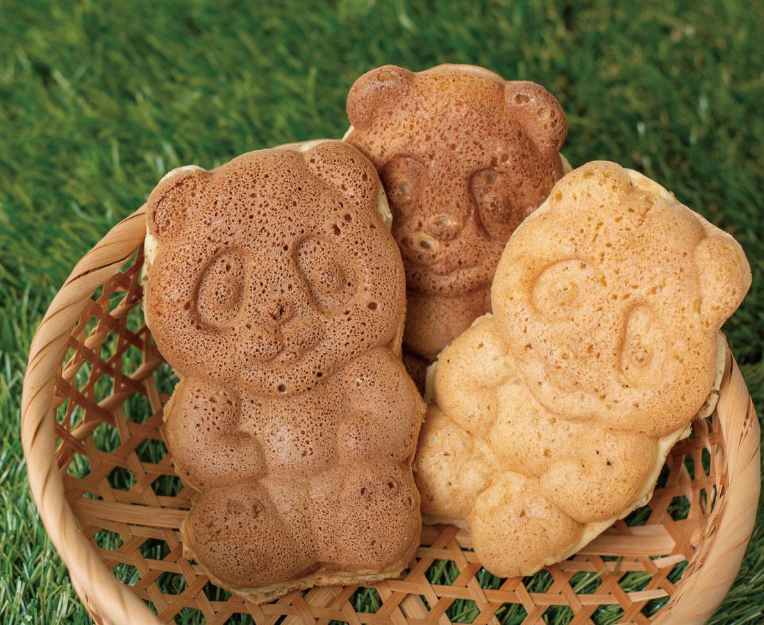 今日のおやつは、ウニマルパンダのパンダ焼き♪