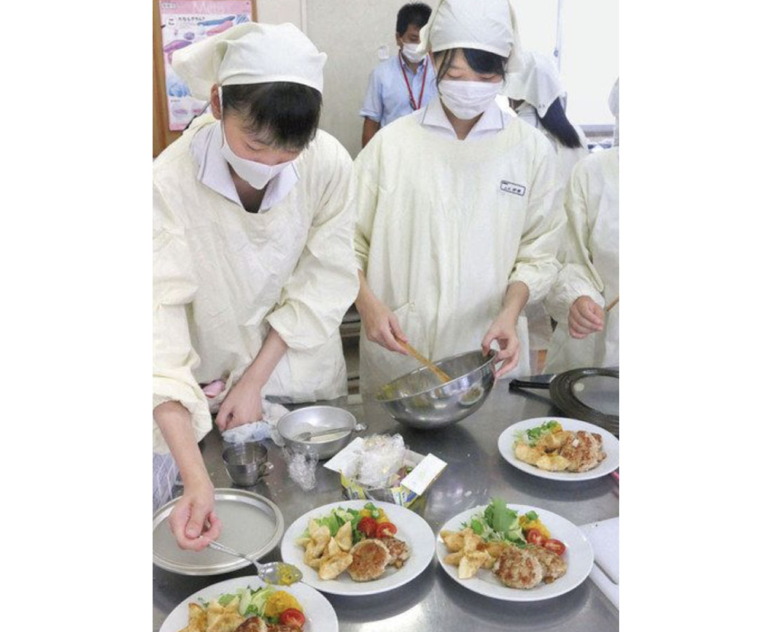 11月に「若狭東高生レストラン」 減塩薬膳ランチに磨き