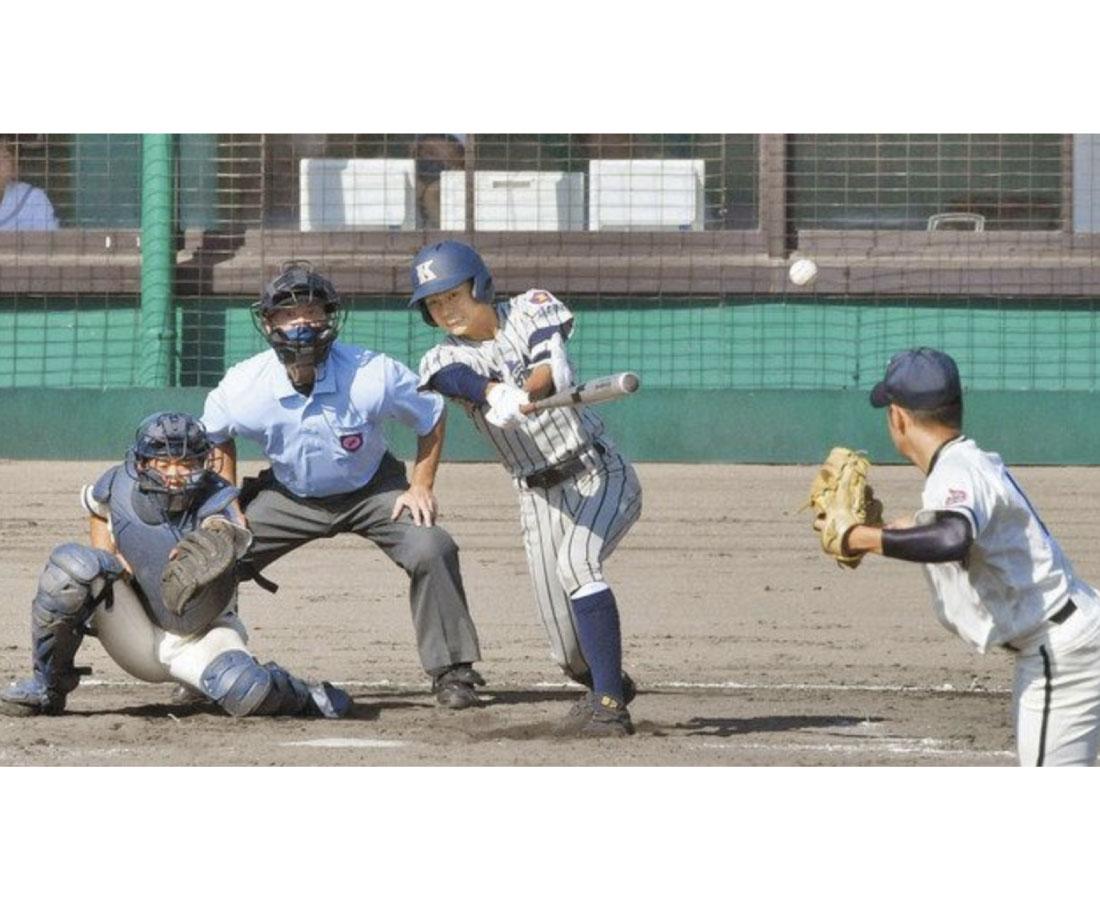 敦賀気比2年連続V 北信越高校野球県大会、福井商に大勝
