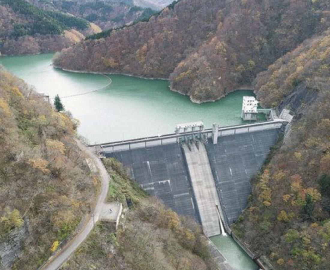 学会選奨土木遺産 笹生川ダム認定 当時の最新技術で設計