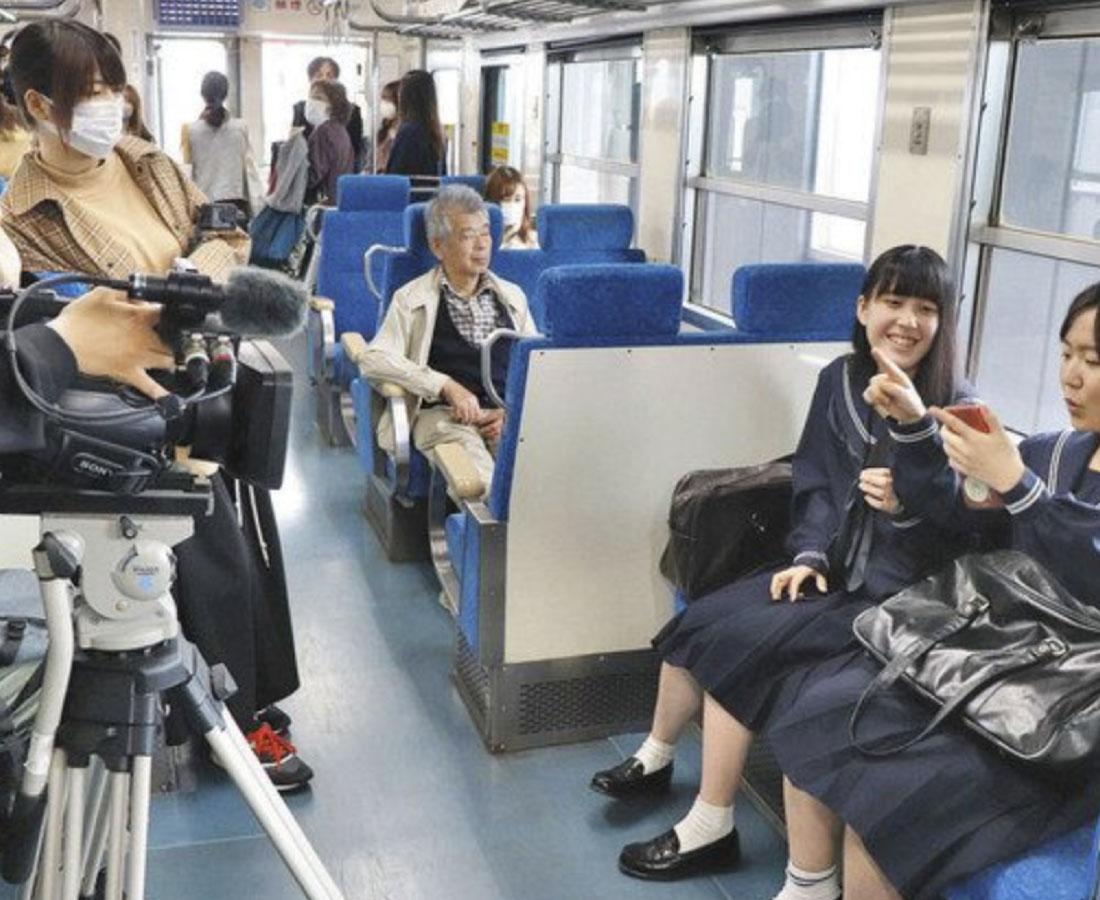 """福井愛 詰まった動画 市、学生連携 公募の""""思い出""""撮影"""