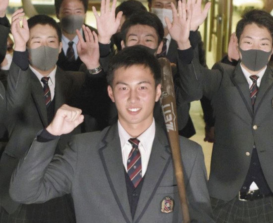 ドラフト 敦賀気比2選手育成指名 長谷川▼西武、笠島▼巨人