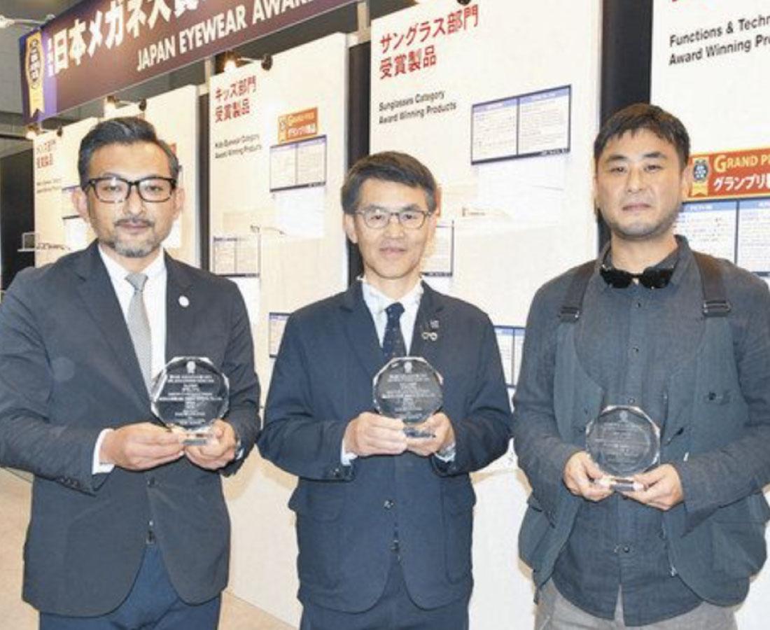 鯖江の3社がグランプリ 日本メガネ大賞