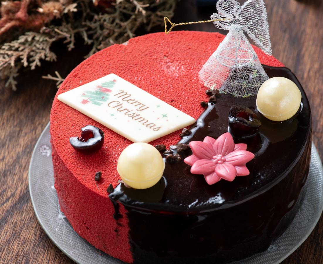 長野県小布施育ちのさくらんぼ「チェリーキッス」をふんだんに使用した新作ケーキ|ペルシュ