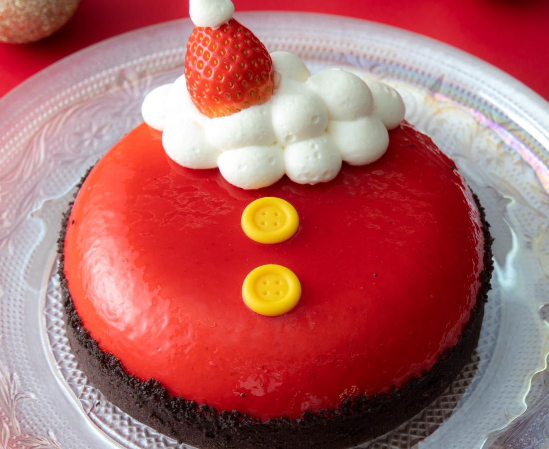 食べるのがもったいない、まあるいフォルムのサンタさんが今年も登場!|西洋菓子倶楽部