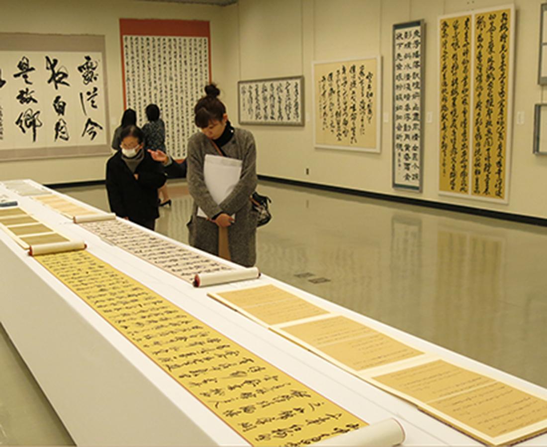 【11/20~23】書の美に触れ合う。『第37回 日本墨書会選抜書道展/テーマ「生命沸騰」』