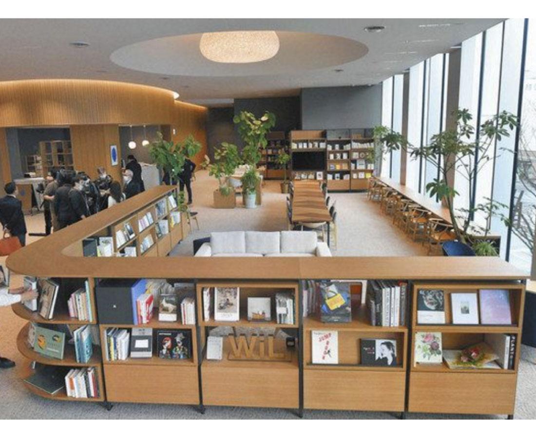 住民つながる場に 福井銀新本店ビル完成 7日オープン
