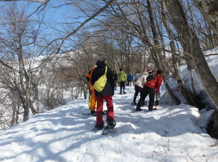 里山観察ウォーク「スノーシューで森の探検!」