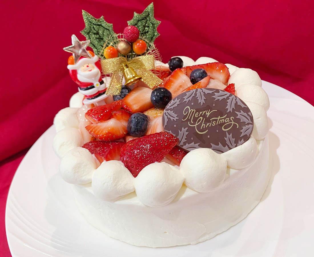 クリスマスケーキ第二弾! いちごのショートケーキ|Veg.terrace(ベジテラス)