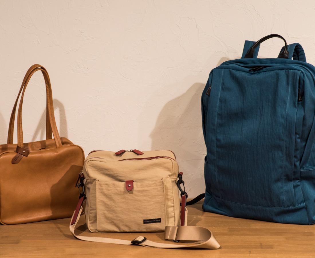 ライフスタイルに新たな感性を。ジャパンメイドの高品質バッグ。|YUSHI