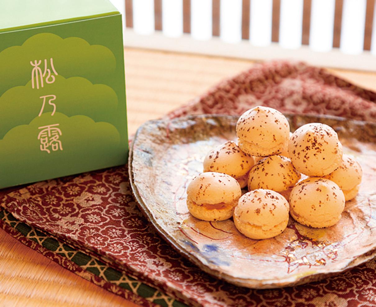 今日のおやつは、御菓子司 浅野耕月堂の松乃露 ♪