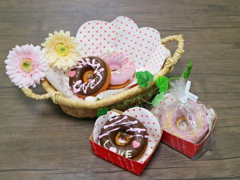 陶芸村の手作りバレンタインDAY【DAY2】焼きドーナツにチョコデコレーション