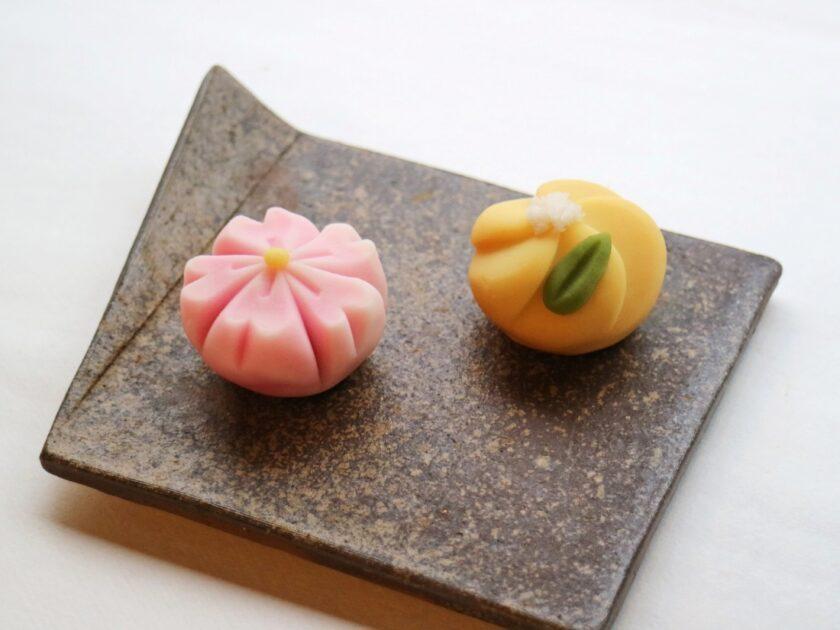 春到来! お花の和菓子作り