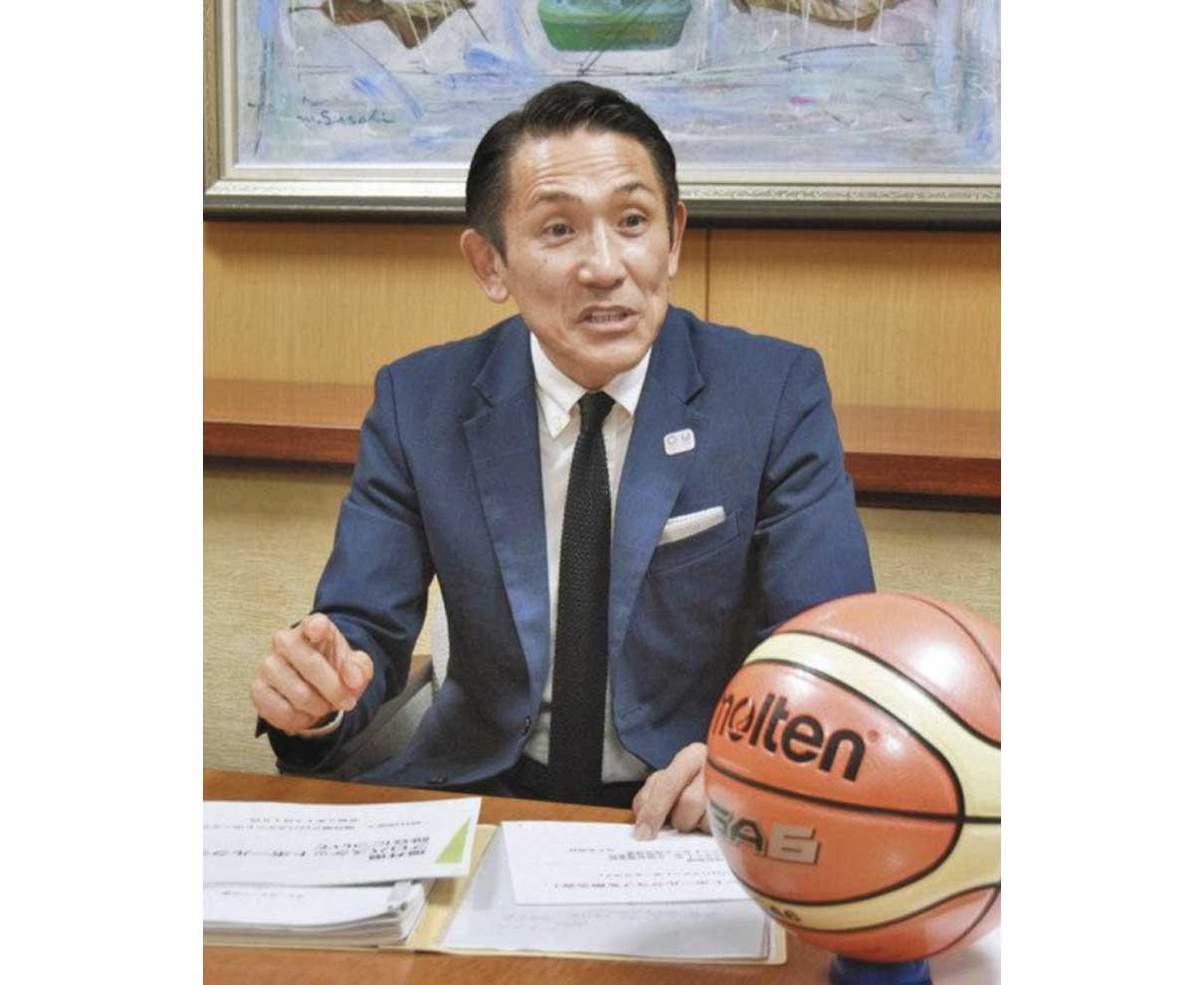 プロバスケ運営団体代表理事・西さん「県民元気にするチームを」 Bリーグ参戦へ熱い思い