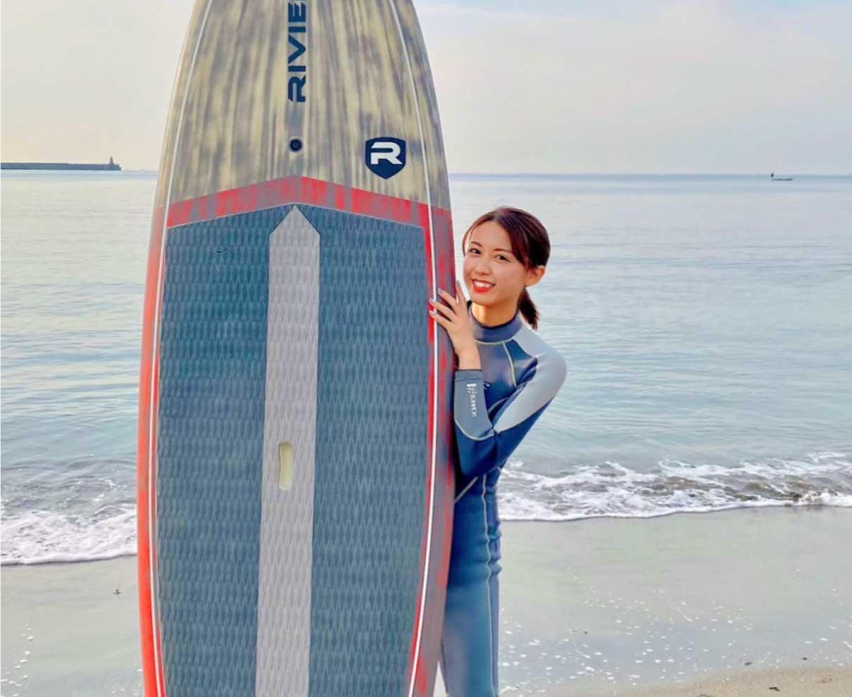 福井に帰れなかった2021年のお正月。年末は大好きな海で久しぶりのSUP!