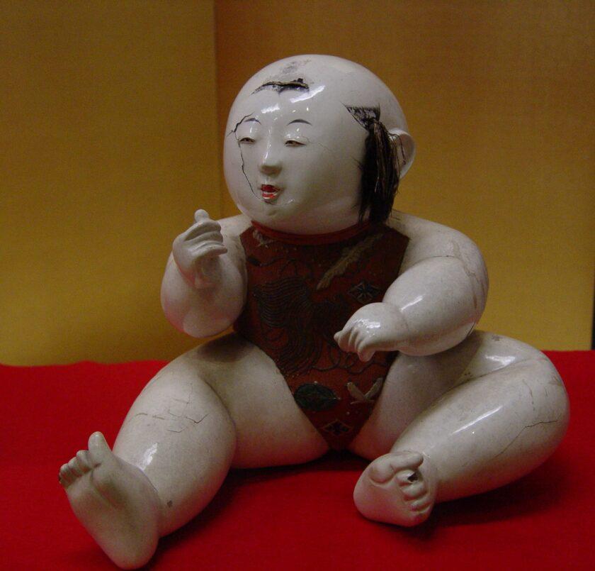 館蔵品ギャラリー「御所人形と武者人形」