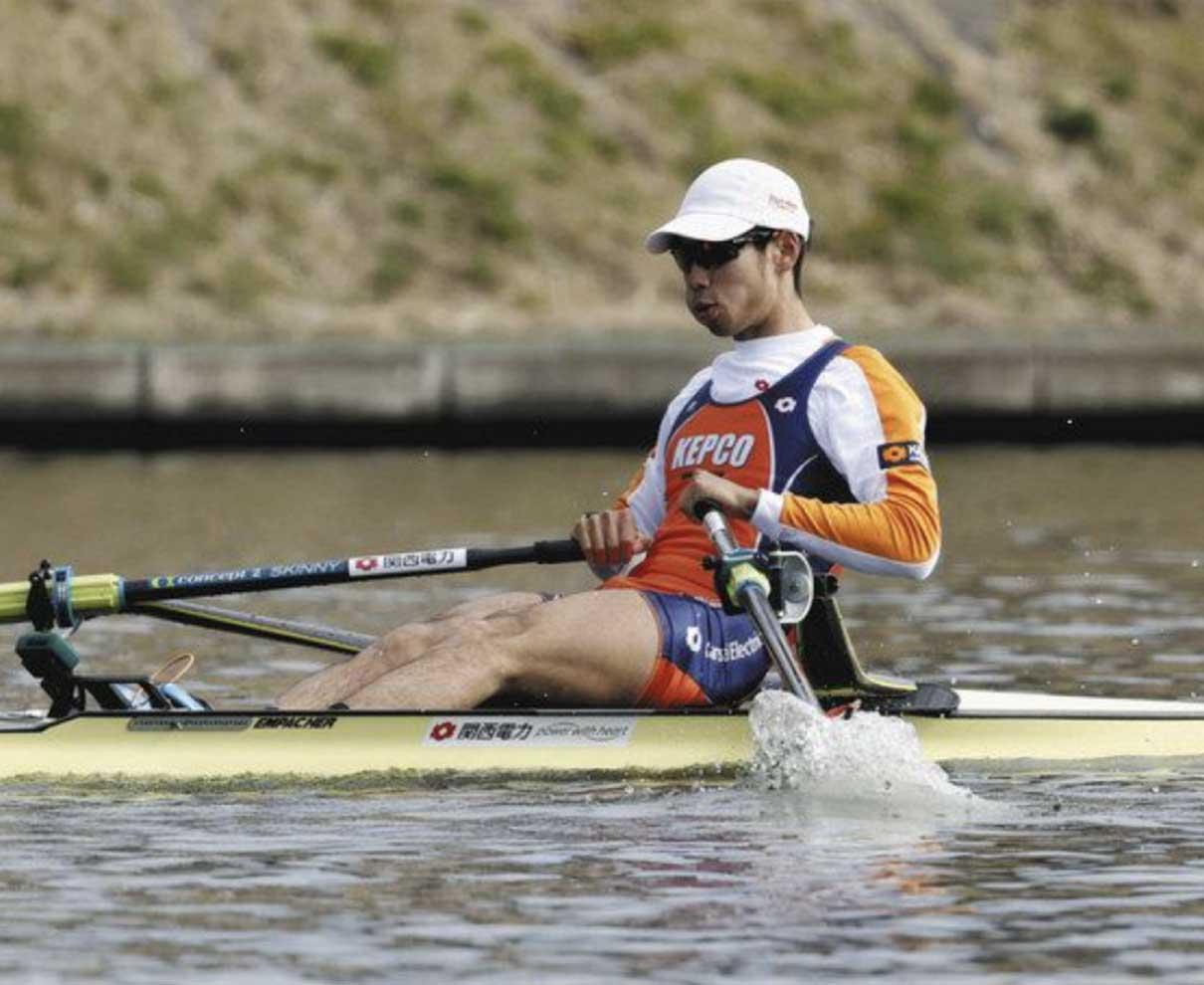 武田、冨田 軽量級2位 ボート代表選考レース クルー決定戦出場へ