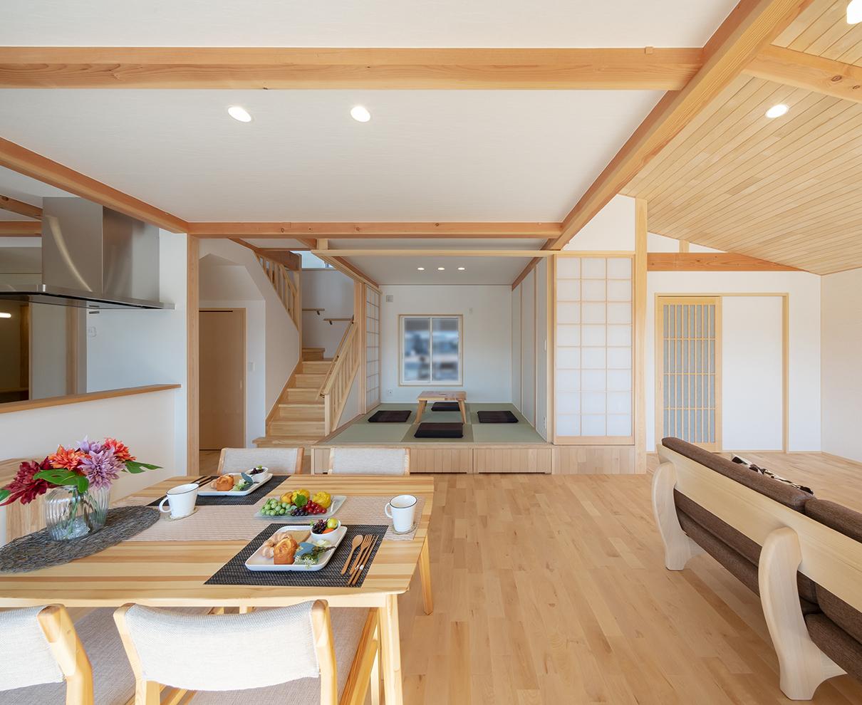 【3/6.7】完成内覧会自然素材と和風にこだわった広さと明るさが自慢の家|ハウジングサービス