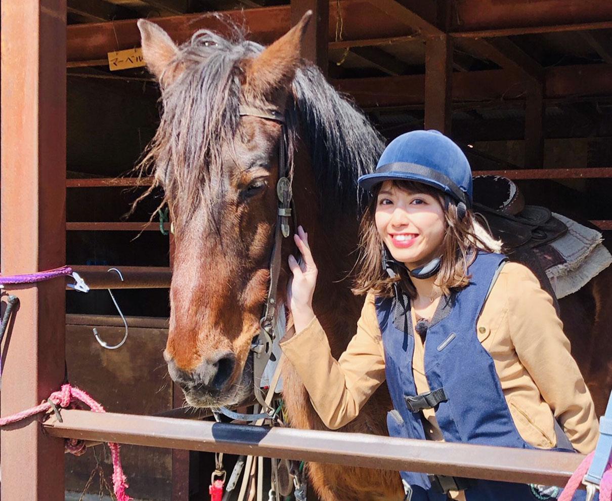 お仕事で人生初の乗馬を体験!優しくて人なつっこい馬たちに癒されました。