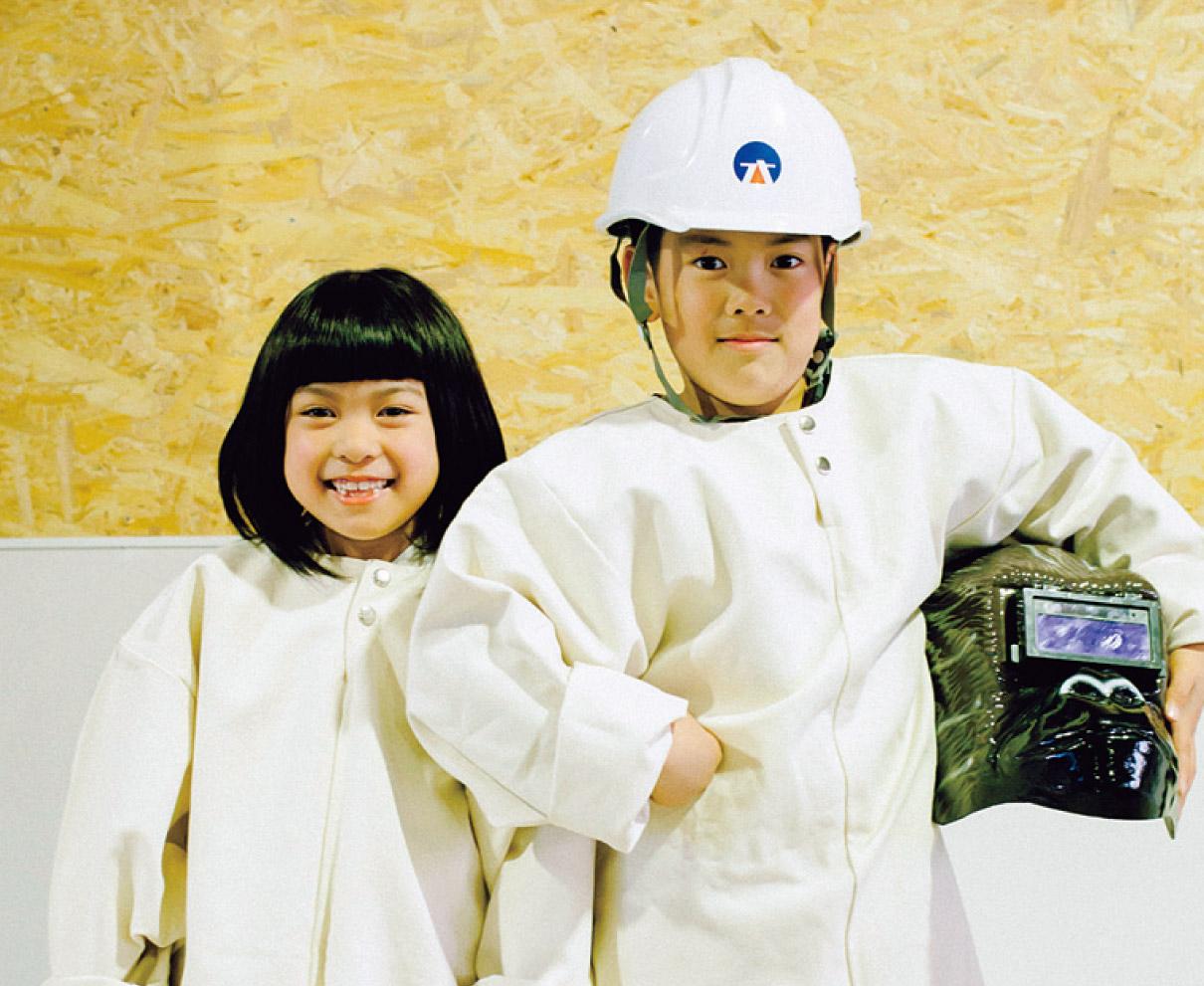 鉄工所でアイアンネームプレートづくり体験! |アイアンプラネット