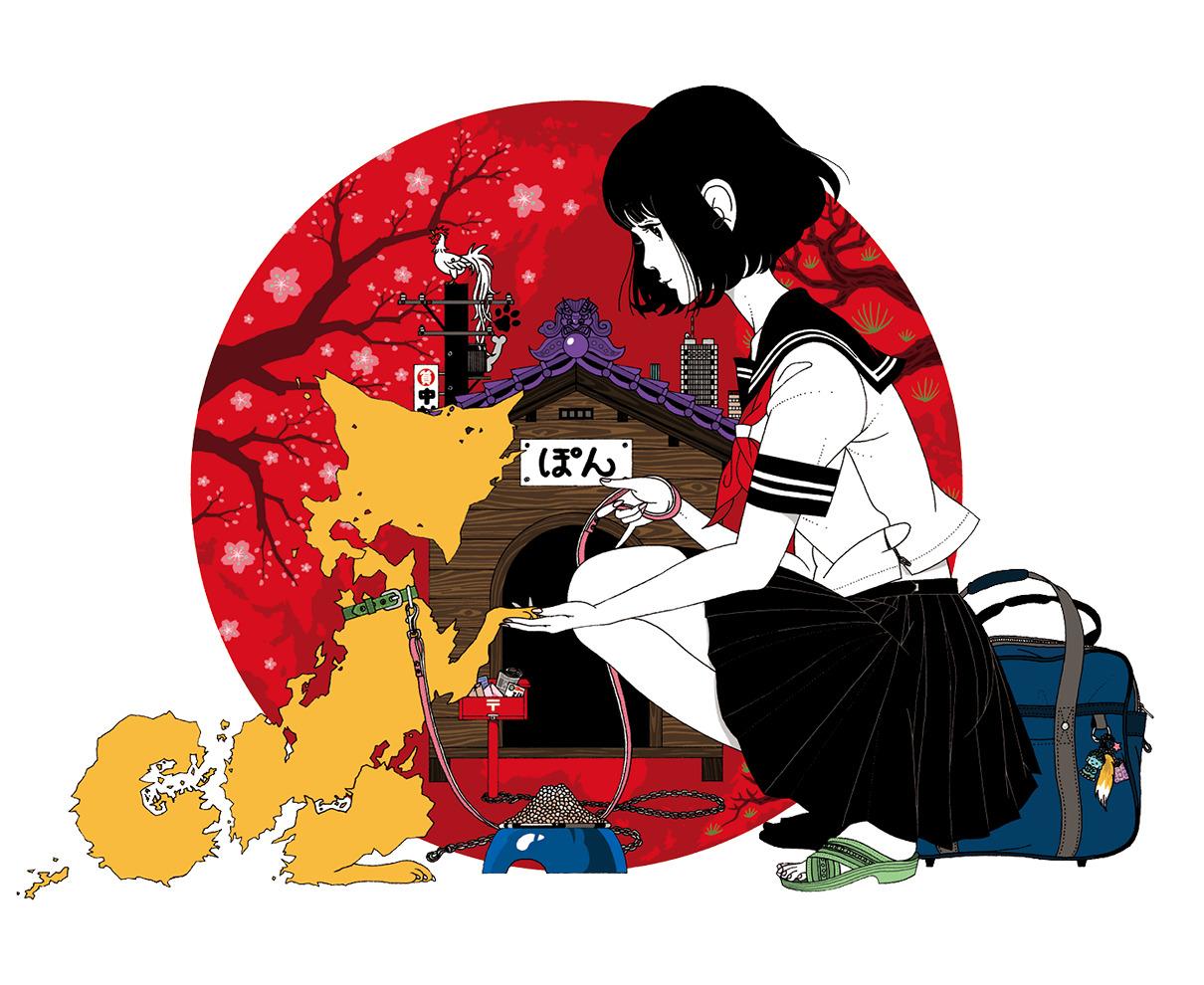【4/29~】中村佑介作品のほぼすべてを一堂に会する、史上最大の展覧会開催!