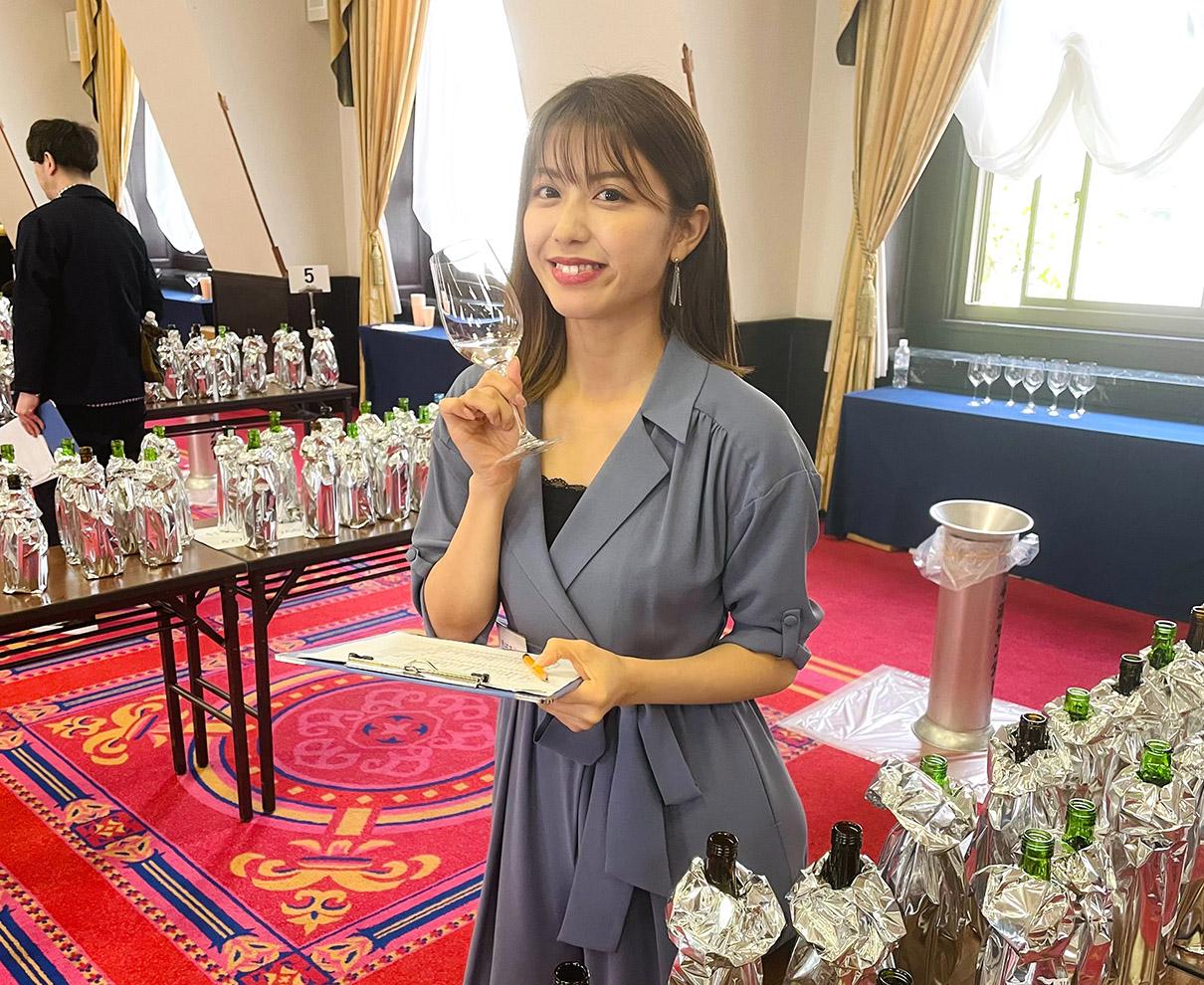 日本酒唎酒師として「ワイングラスでおいしい日本酒アワード」で審査員をさせていただきました。