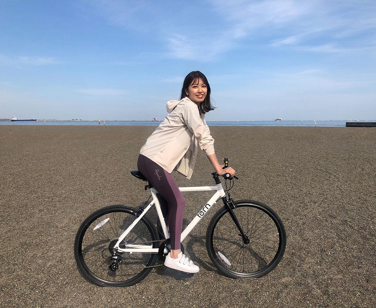 クロスバイクにチャレンジしたよ~。またまた趣味が増えそうな予感がします。