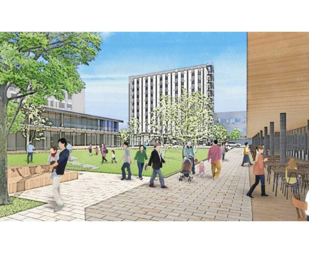 高級シティホテル着工 敦賀駅西地区の整備本格化